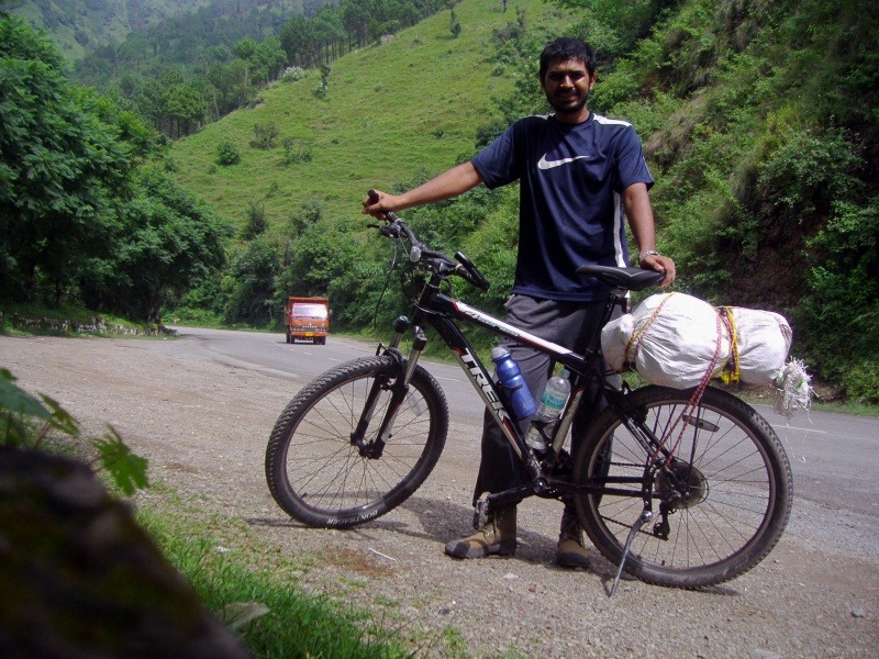Cycling from Kalka to Shimla
