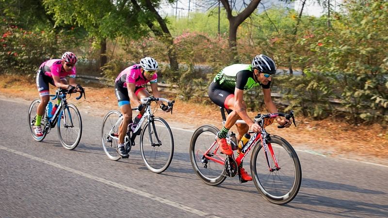 Cycling race of Aravalli Trailhunters