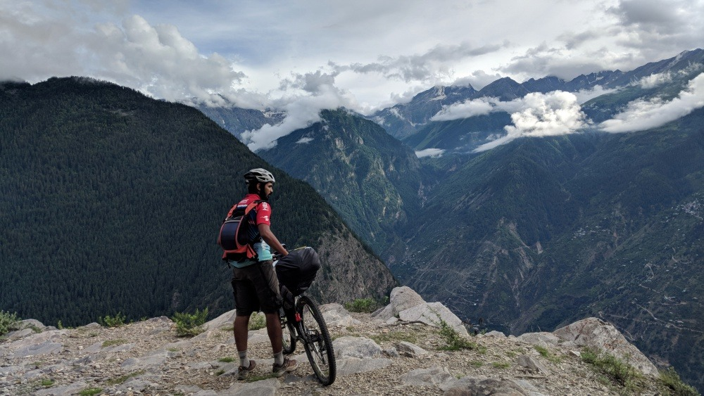 90 Days Cycling in the Himalayas: Day 8: Kalpa to Spillow