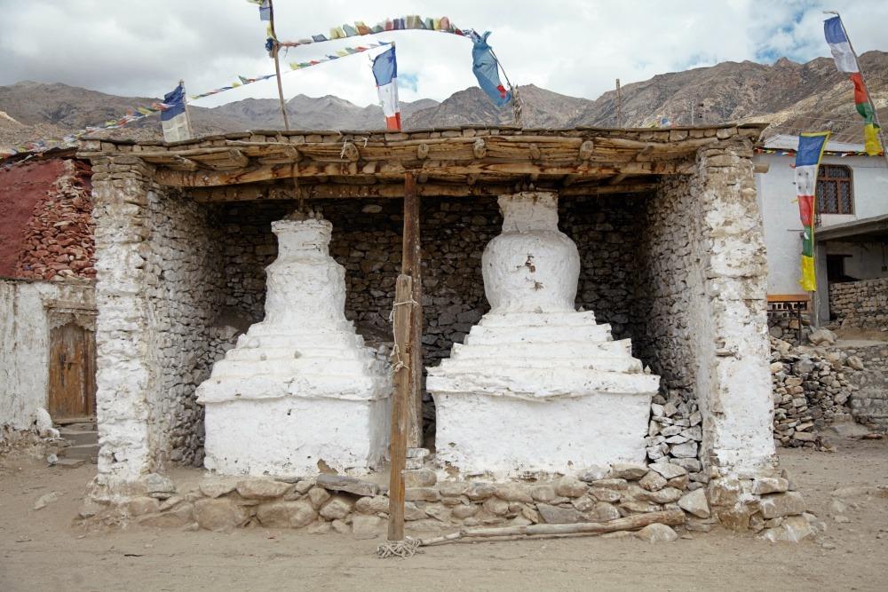 Nako Chortens Stupa Spiti