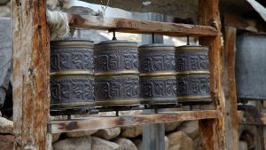 Prayer Wheels Spiti
