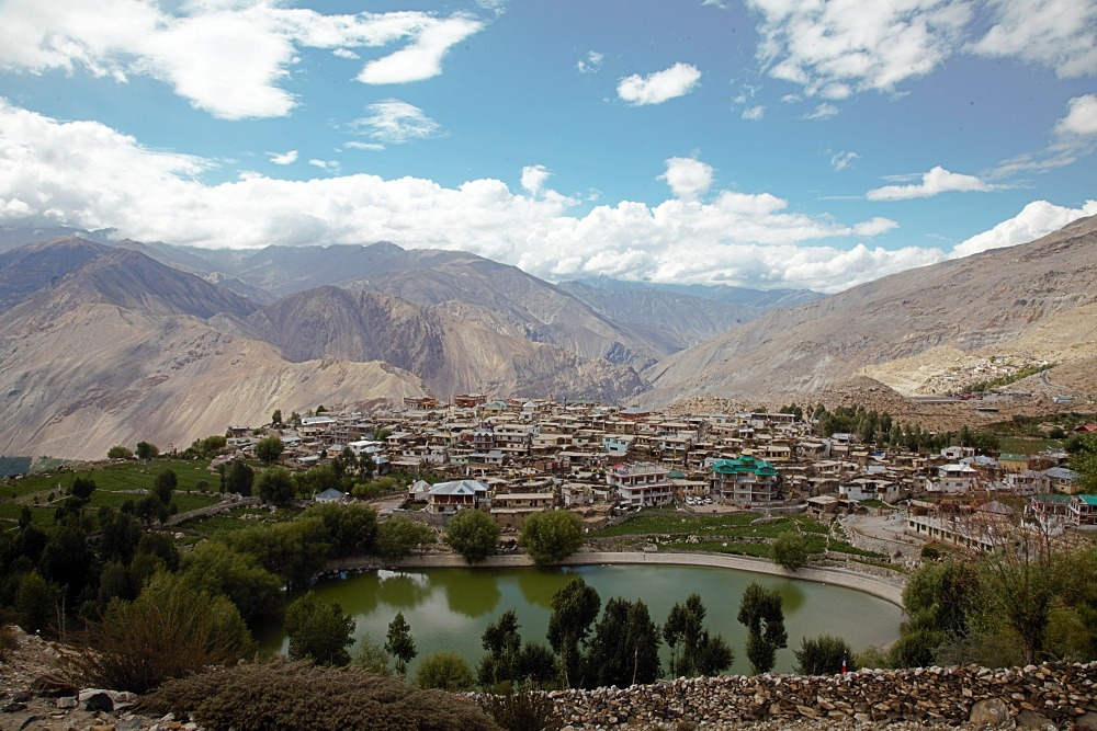 Nako Lake and Village Spiti