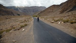 Cycling from Tabo to Dhankar Spiti