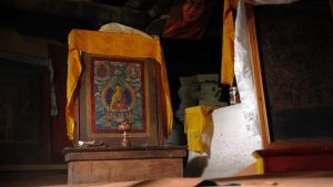 Dhankar Monastery Prayer Room