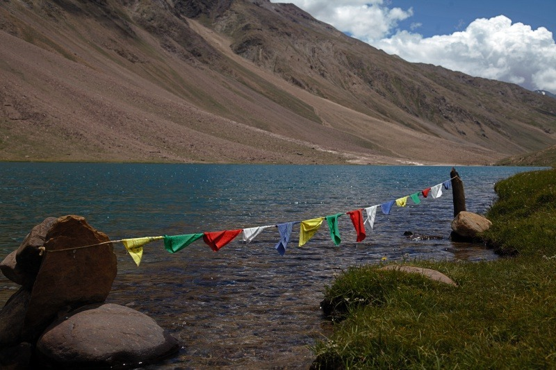 90 Days Cycling in the Himalayas: Day 16: Chandra Tal to Batal