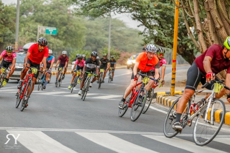 Aravalli Trailhunters Road Race in Delhi