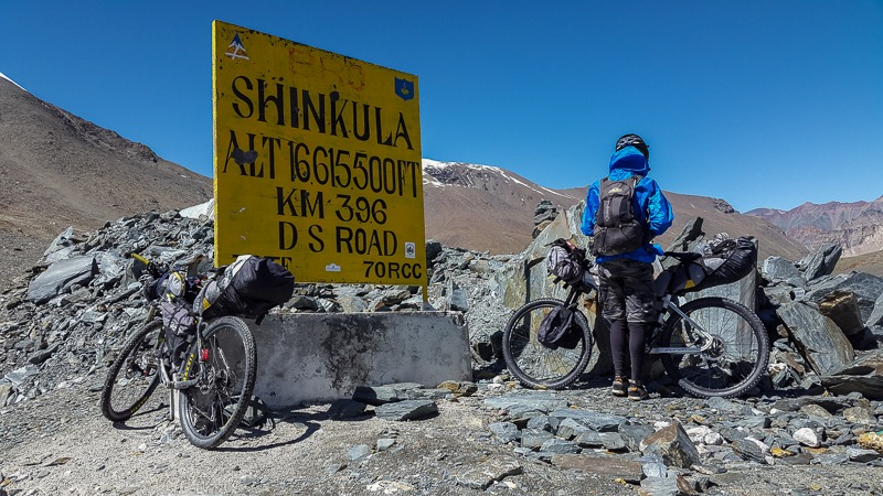 Cycling from Ramja to Karjyak via Shinku La