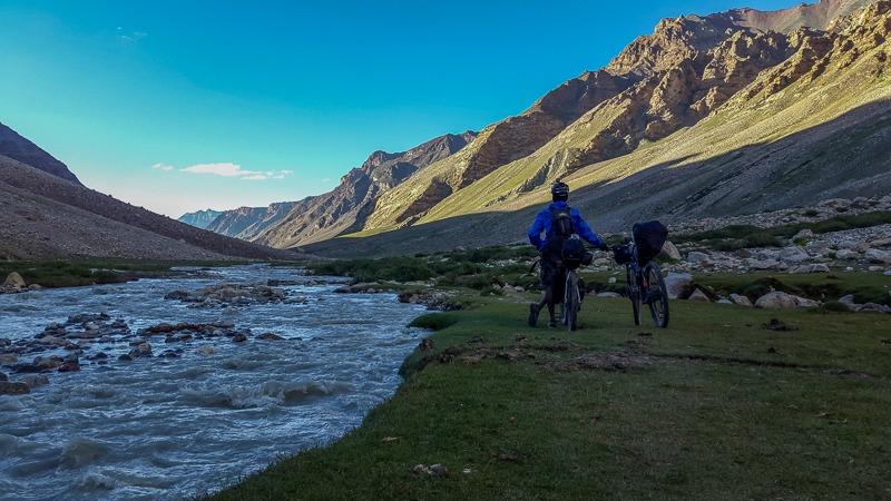 Cycling from Ramja to Karjyak via Shinku La
