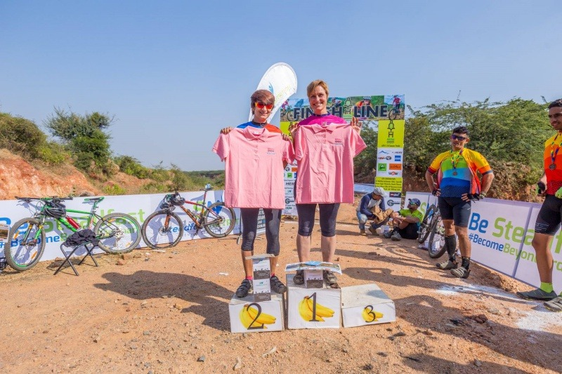 Aravalli Trailhunters Meet the Force Podium