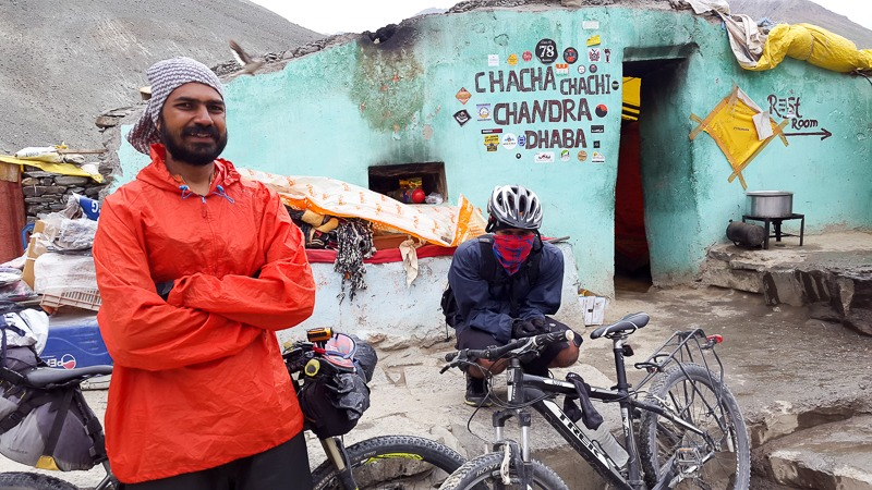 Cycling from Batal to Gramphoo