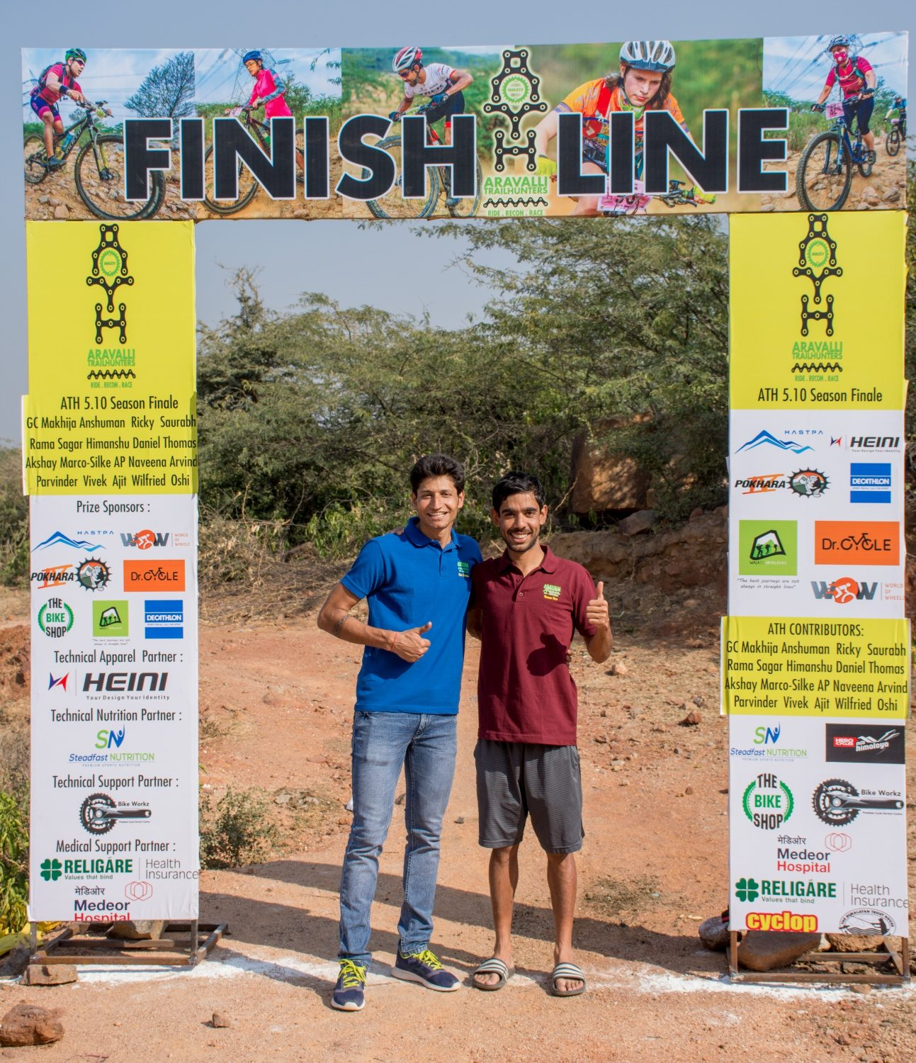 Aravalli Trailhunters Meet The Force