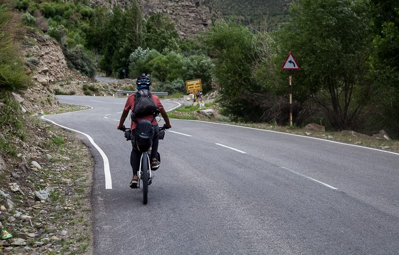 90 Days Cycling in the Himalayas: Day 18: Gramphoo to Keylong
