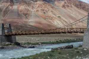 Cycling from Kargyak to Maling in Zanskar Valley