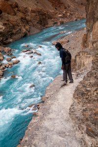 Trekking to Phuktal Monastery