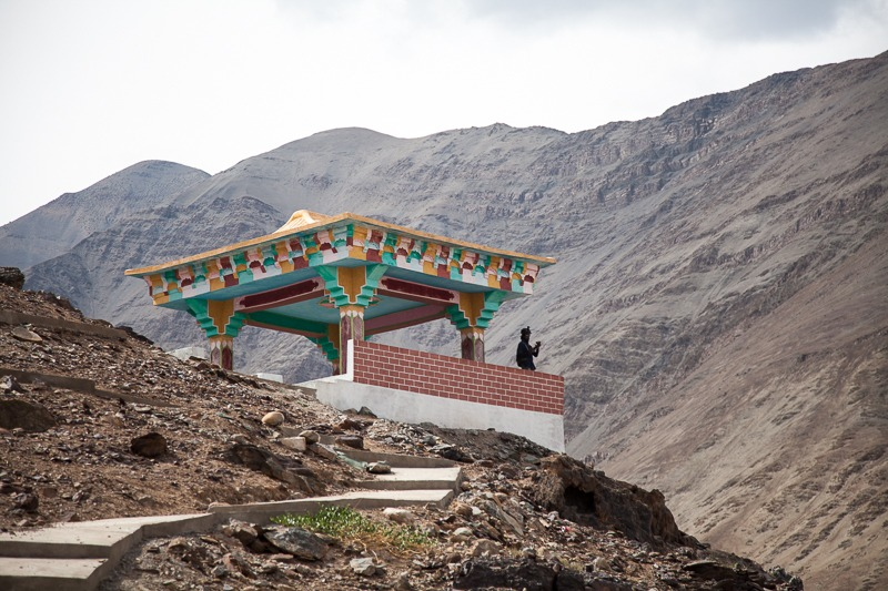 View point for Sangam near Leh