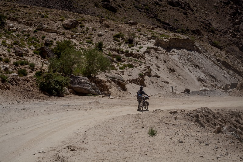 Cycling from Ichar to Padum in Zanskar Valley