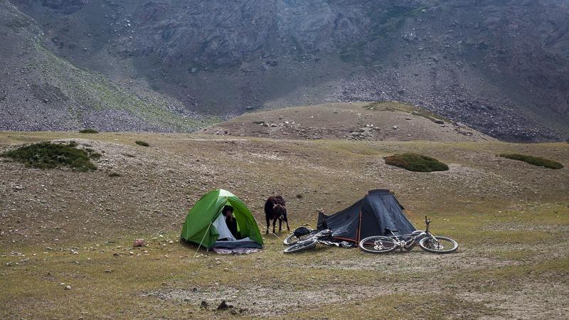 Camp near Abran