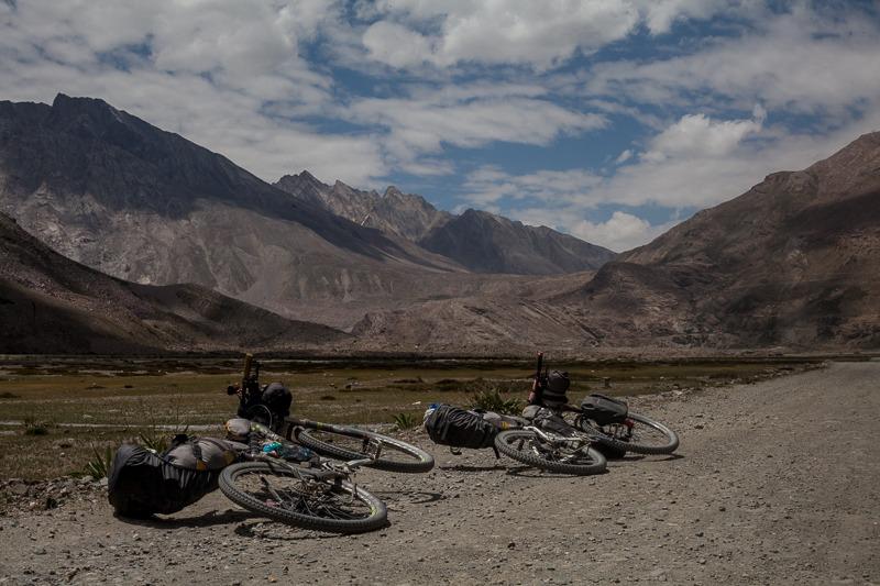 Cycling from Abran to Rangdum in Zanskar Valley