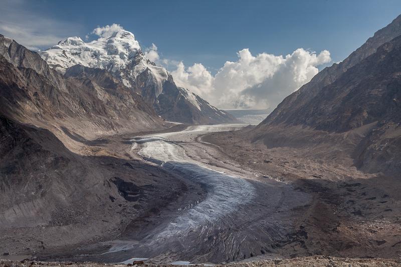 Drang Drung Glacier in Zanskar Valley