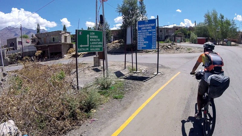 Cycling from Kargil to Garkone