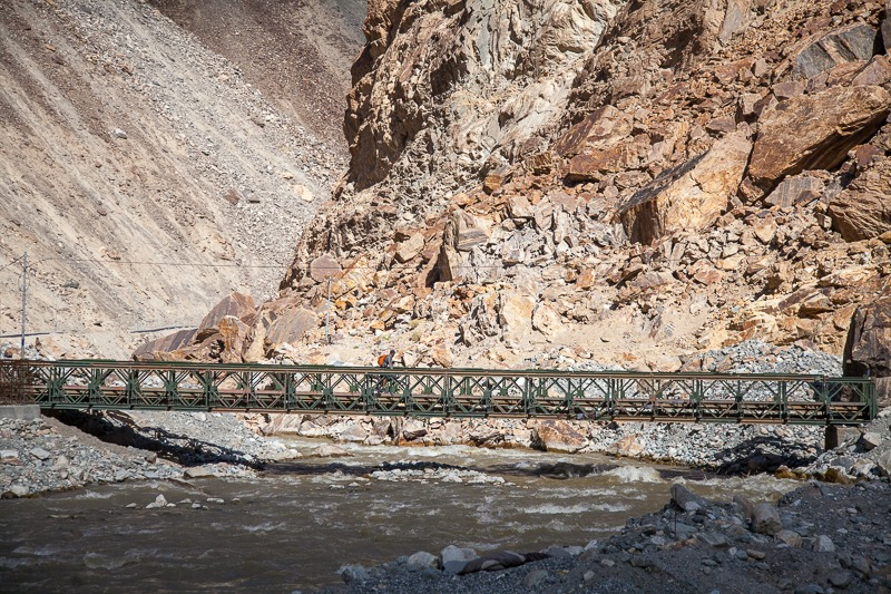Bridge over Shyok River