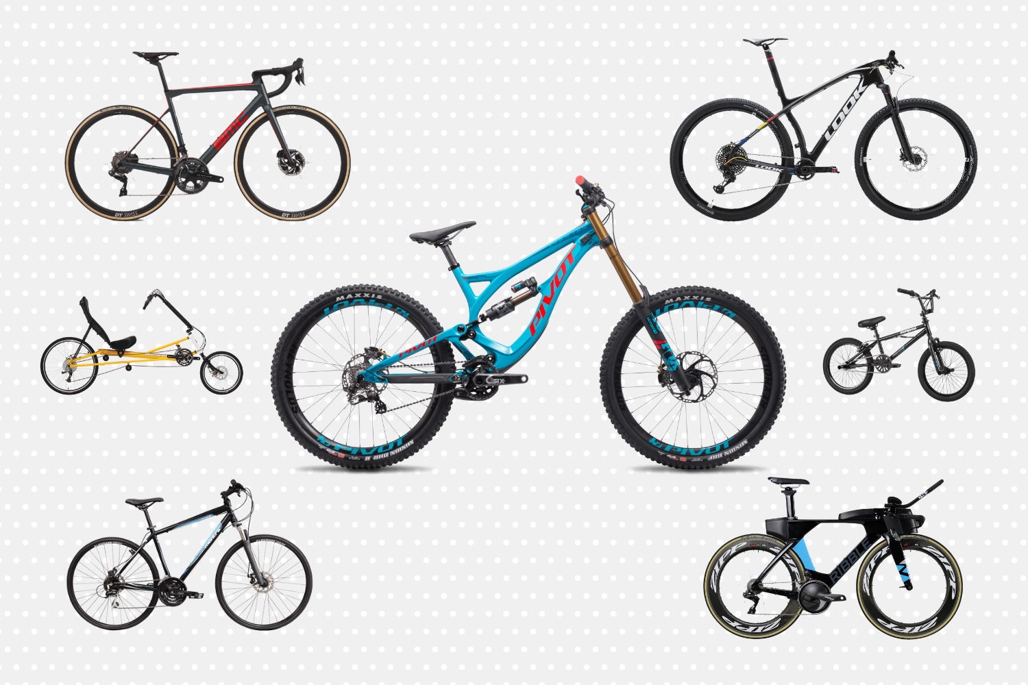 difference between road mtb and hybrid