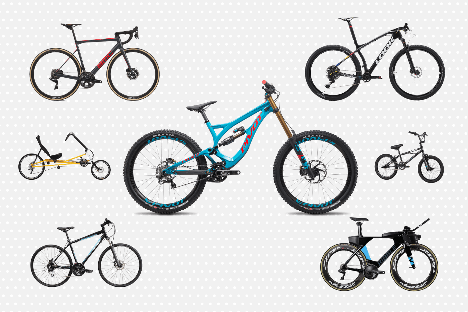 What is the difference between a Road, MTB and Hybrid bike and which is the best for you?