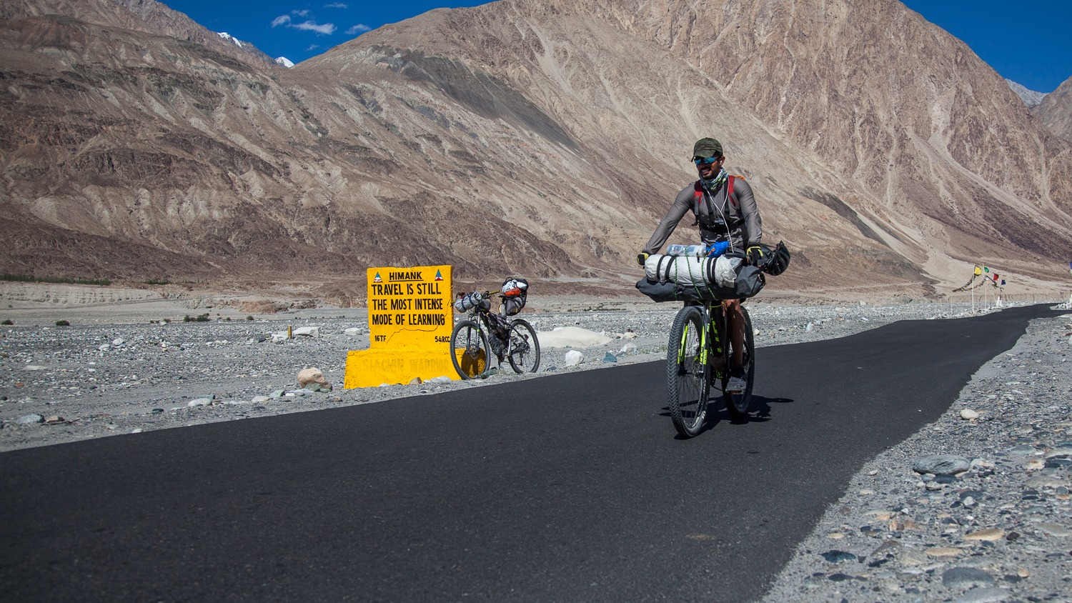 90 Days Cycling in the Himalayas: Day 49: Khardung to Hundar