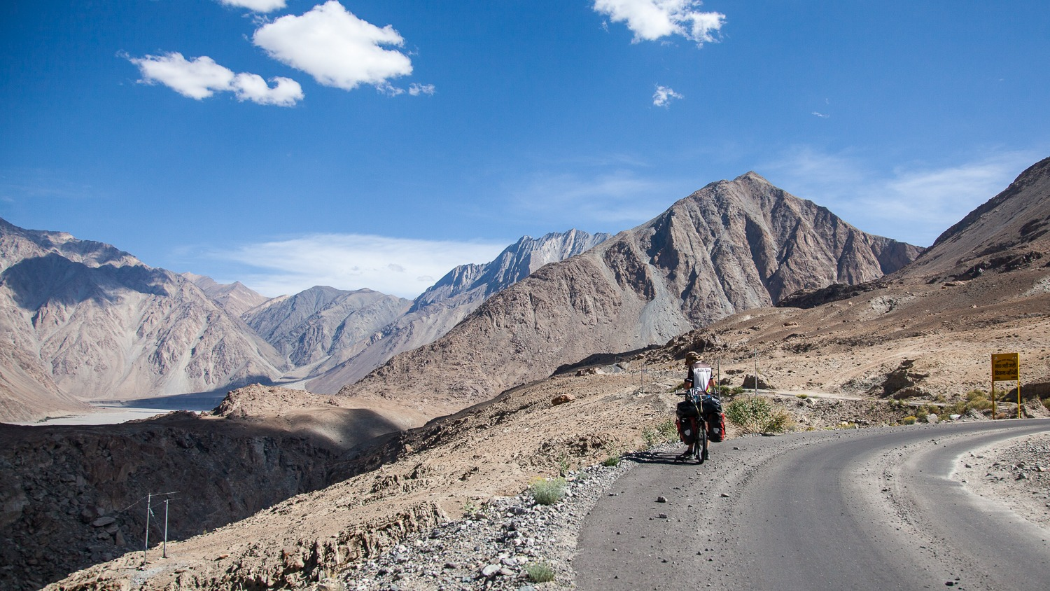 90 Days Cycling in the Himalayas: Day 53: Agam to Tangtse