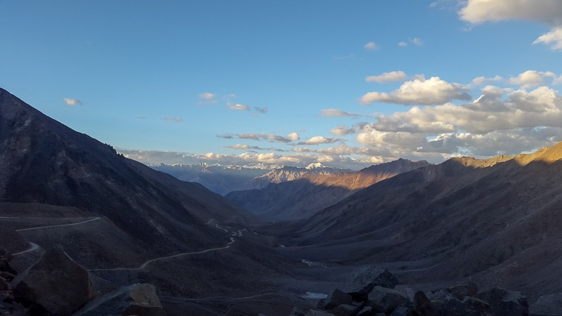 North of Khardung La