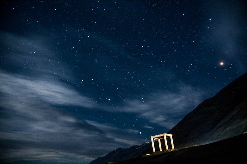Night Sky at Pangong Tso