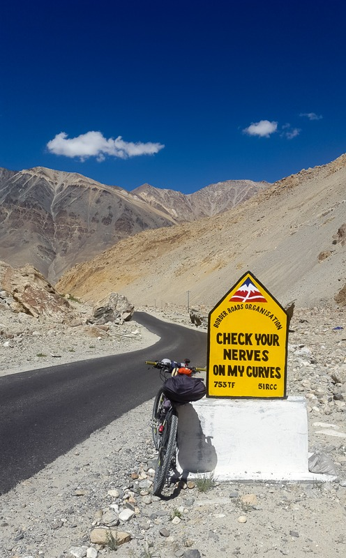 BRO funny captions in Ladakh