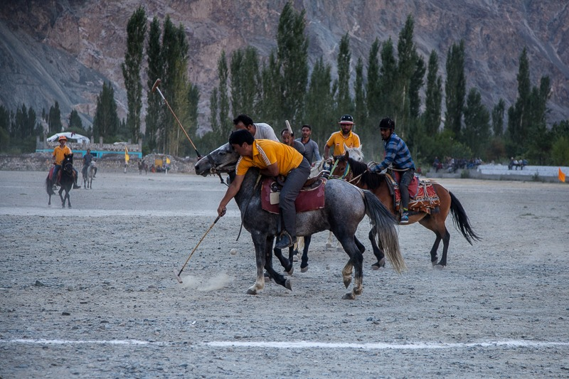 Polo match in Turtuk