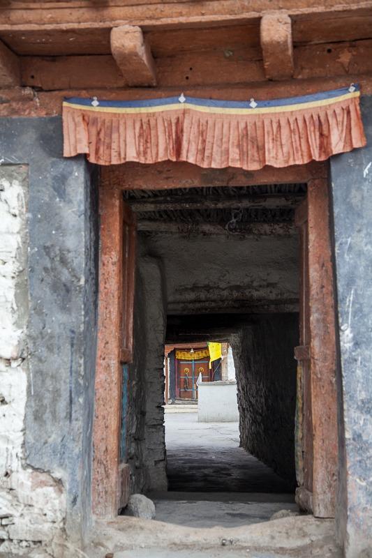 Prayer Room door in Hanle Monastery