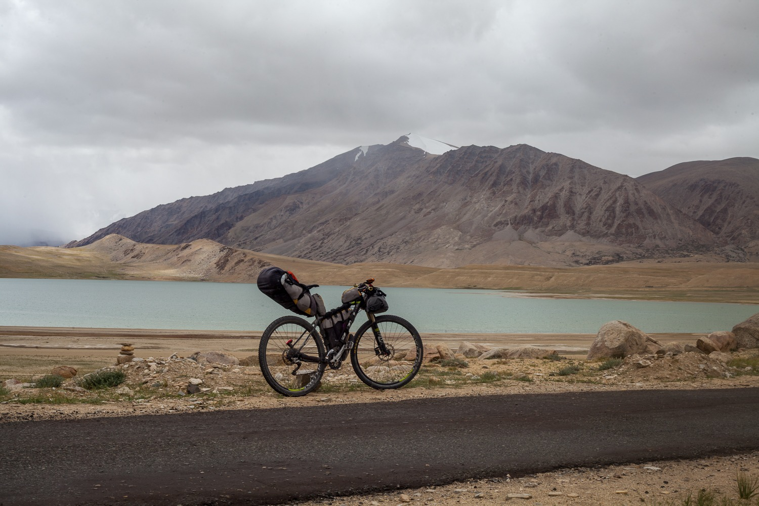 90 Days Cycling in the Himalayas: Day 61: Sumdo to Tso Moriri