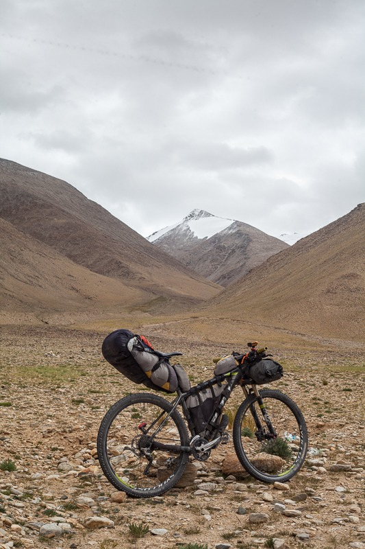 Cycling from Sumdo to Tso Moriri