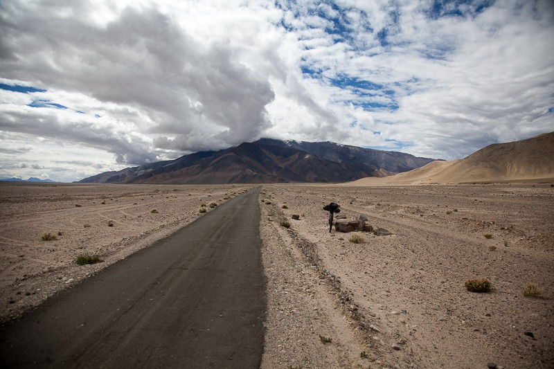 Cycling from Tsaga to Hanle