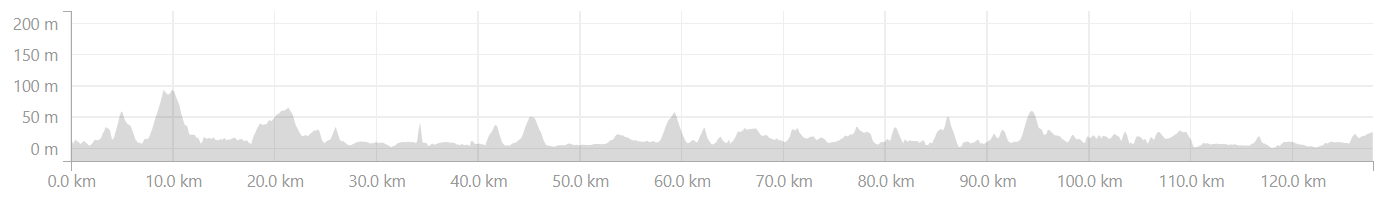Elevation profile from Canacona to Honnavar