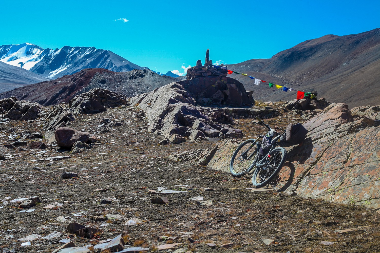 90 Days Cycling in the Himalayas: Day 73: Keylong to Manali
