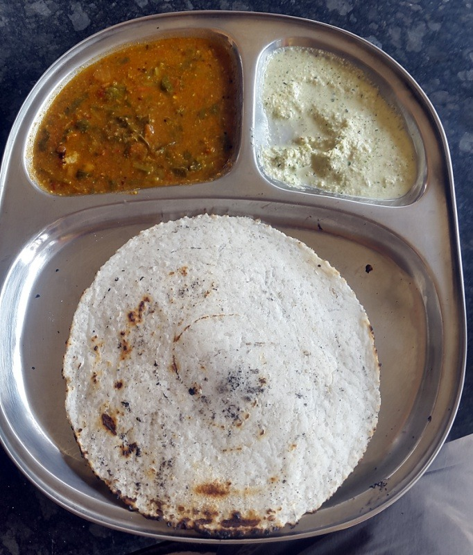 Chapati made of rice flour