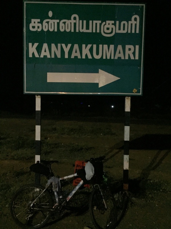 Cycling from Mumbai to Kanyakumari