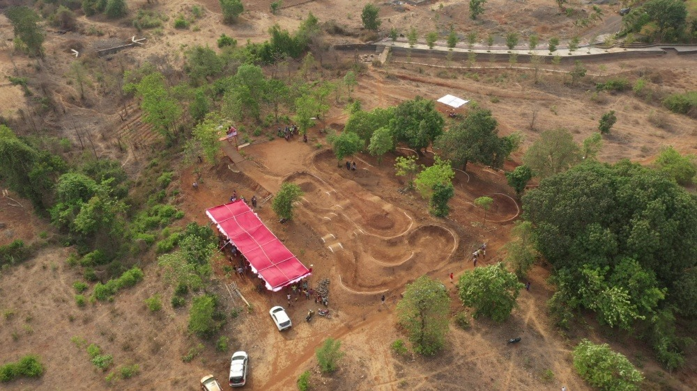 GHV Endeavor Trail. Dirt Pump Track