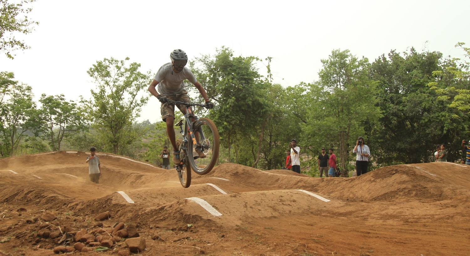 GHV Endeavor Trail: Pump Track in Mumbai
