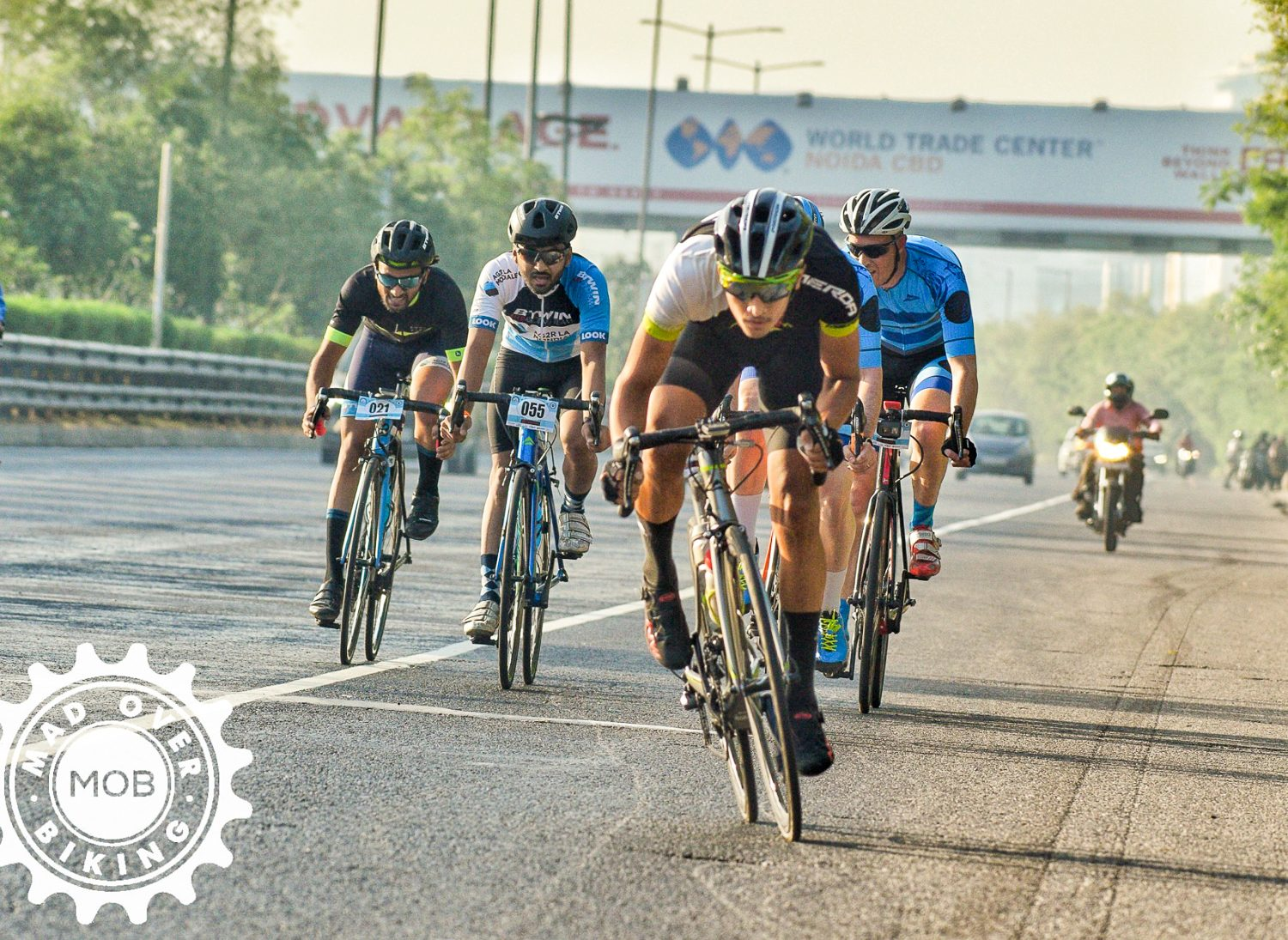 Mad Over Biking race in Greater Noida