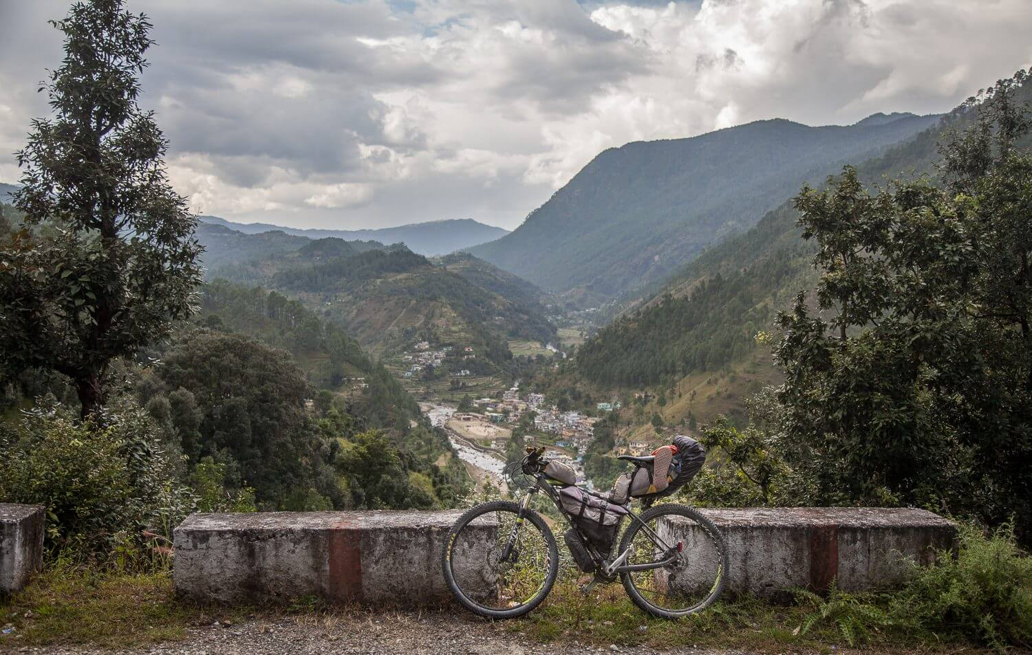 Cycling in Uttarakhand