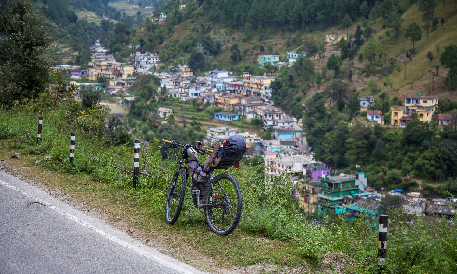 90 Days Cycling in the Himlayas: Day 87-90: Adibadri to Haldwani