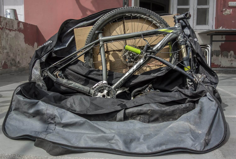 Btwin bike transport bag