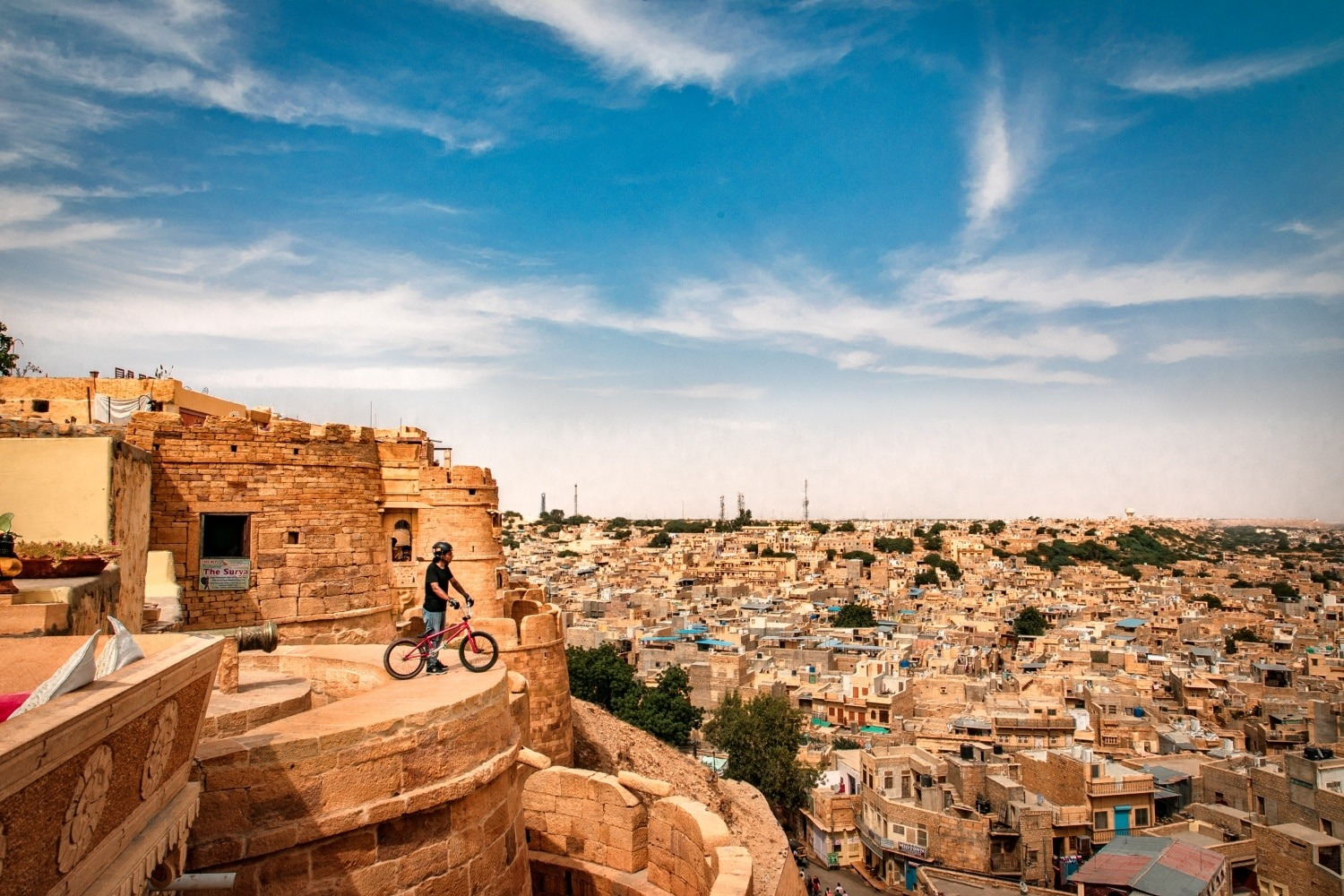 Jaisalmer fort. City view