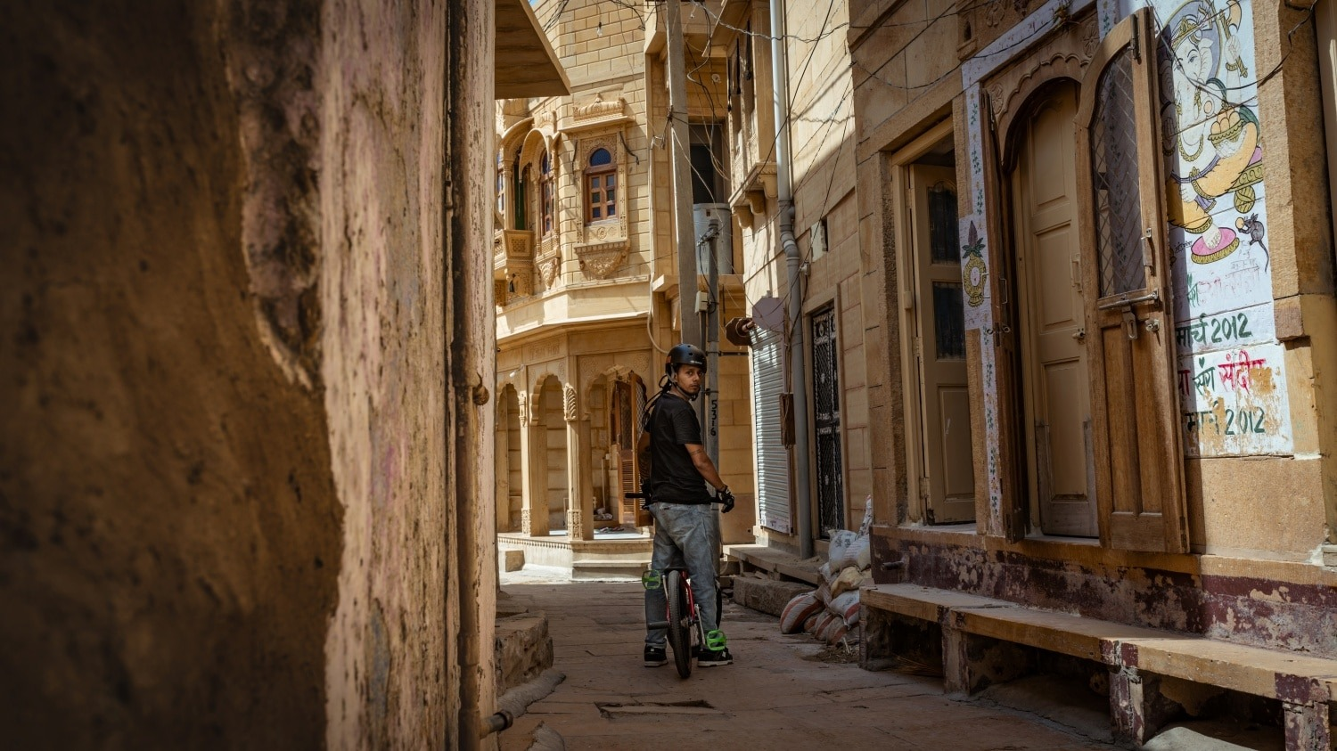 Bylanes of Jaisalmer Fort