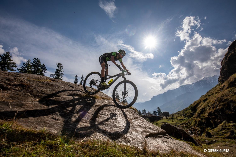 Shiven Aerohawk. Ace Indian mountain biker